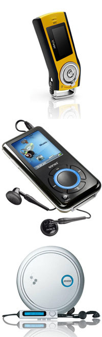 Flash, HDD, CD mp3-плеер